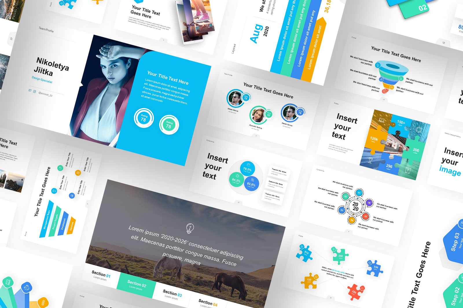 Vectory Infographic Asset Pack PowerPoint Template