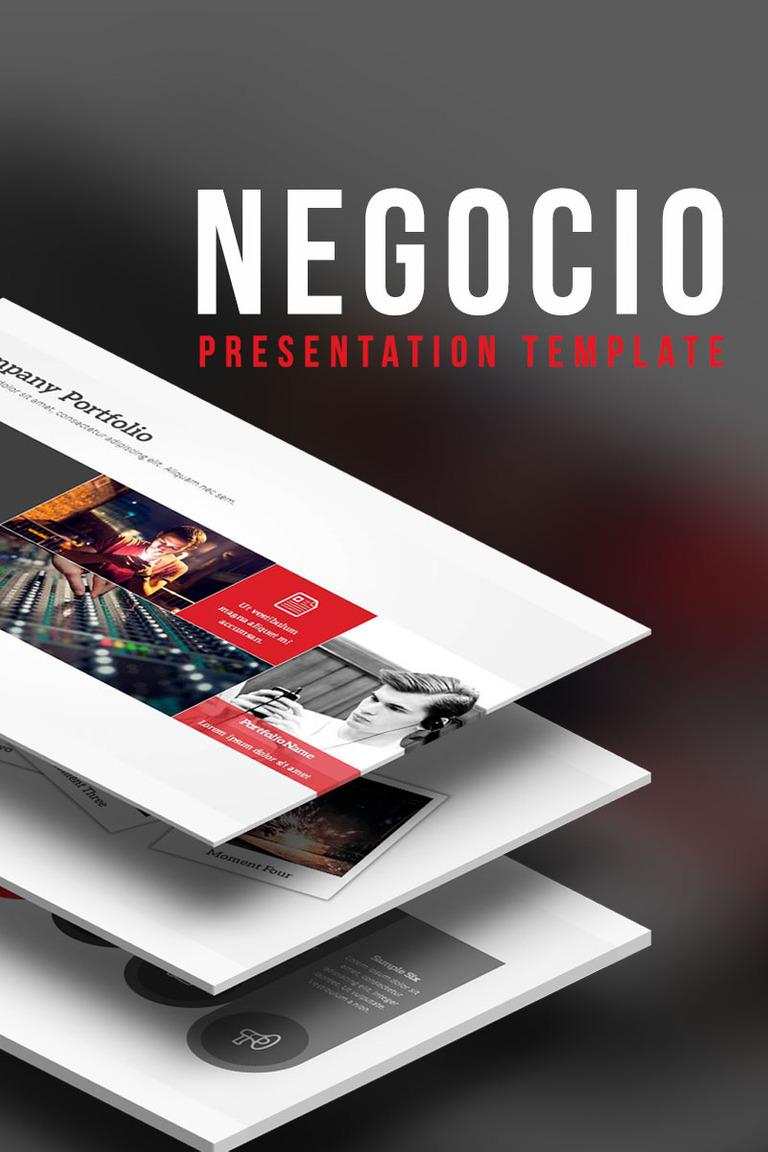 PowerPoint Vorlage #64592 für Design