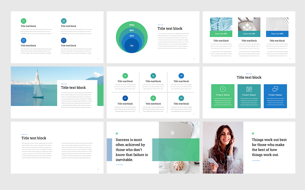 Project Status - Professional PowerPoint Template #68531