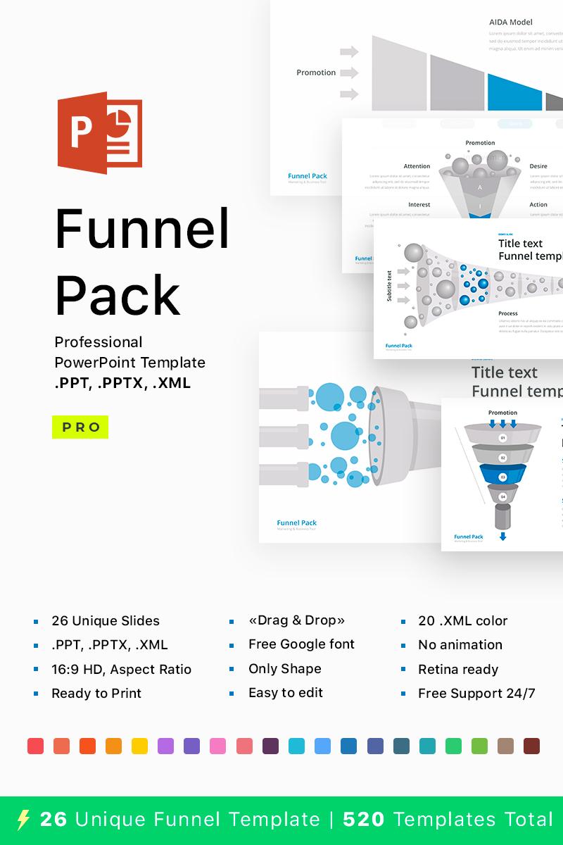 Funnel pack for powerpoint powerpoint template 68541 toneelgroepblik Gallery
