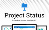 Project Status for Keynote Template