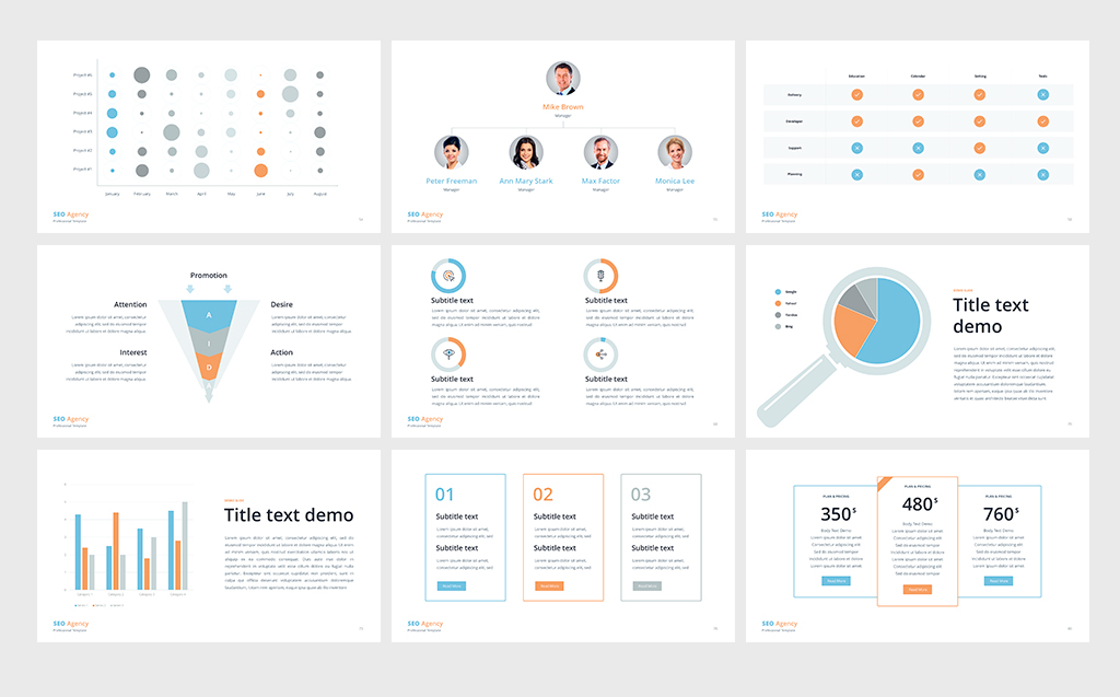 Seo agency powerpoint template 68769 seo agency powerpoint template big screenshot toneelgroepblik Image collections