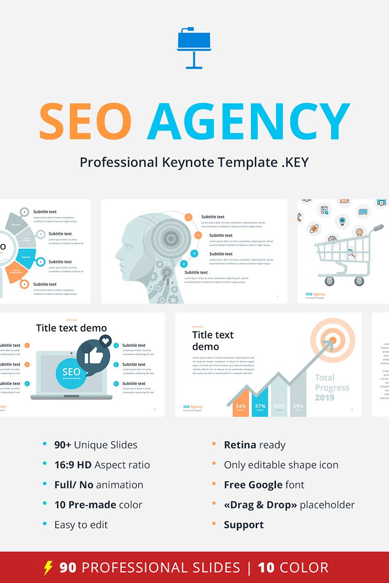 SEO Agency - Keynote Template #68851