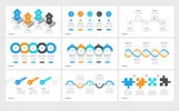 Timeline Pack 50 in 1 PowerPoint Template
