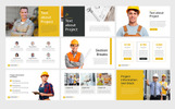 Construction Professional PowerPoint Template