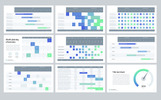 Project Dashboards for PowerPoint Template