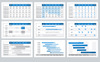 Gantt Chart PowerPoint Template Big Screenshot
