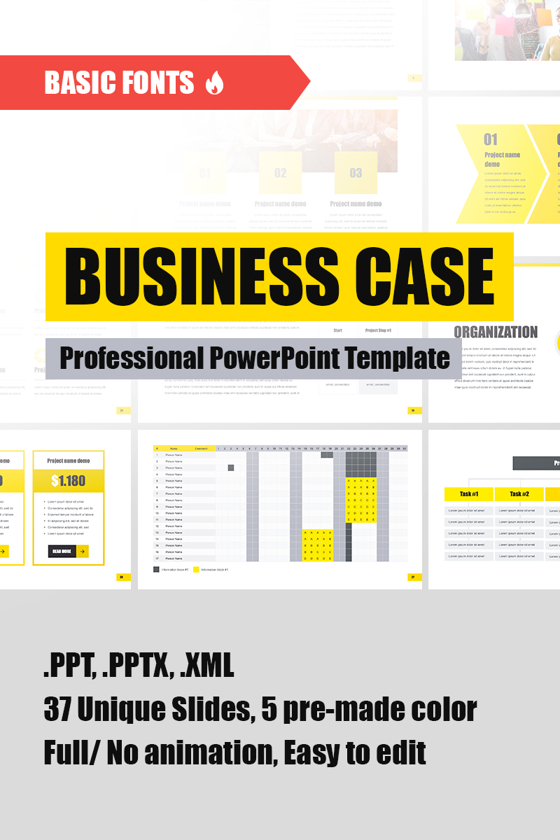 simple business case template powerpoint.html