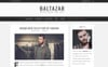 Baltazar - A  Masculine Blog WordPress Theme Big Screenshot