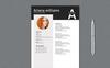A Williams Professional Resume Template Big Screenshot