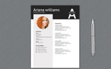 A Williams Professional Resume Template