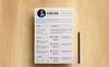 Clara Dew Resume Template Big Screenshot