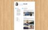 Johan Miller Resume Template Big Screenshot