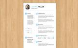 Johan Miller Resume Template
