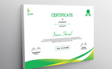 Snaiby  Achivement Certificate Template