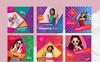 Colorful Instagram Banner Pack Social Media Big Screenshot