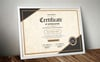 Classic Appreciation Certificate Template Big Screenshot