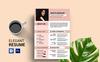 Arieta 1 Page Resume Template Big Screenshot