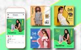 Media społecznościowe Fashion Sale Instagram Banner #82464