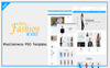 New Fashion Ware PSD-mall En stor skärmdump