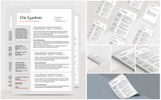 Eguskine Resume Template