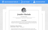 Marinda Resume Template