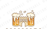 Beer Castle Logo Template