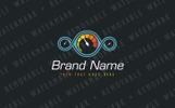Speed Testing Logo Template