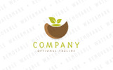 Healthy Dumpling Meal Logo Template