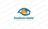 Destination Eye Logo Template