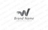 W Abstract Snake Logo Template Big Screenshot