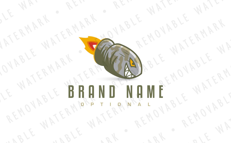 Shark Bullet - Logo Template #67950