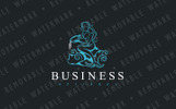 Little Mermaid - Logo Template