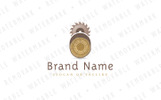 Wood Harvesting - Logo Template