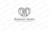 Heart of Symbiosis - Logo Template