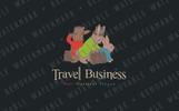 Bunny Travelers Logo Template
