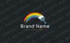 Painted Rainbow Logo Template Big Screenshot