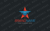 Bull Star Logo Template