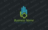 Lucky Hand Logo Template