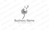 Blowing Money Dandelion Logo Template