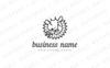 Goat & Coffee Branch Logo Template Big Screenshot
