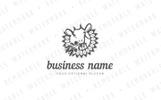 Goat & Coffee Branch Logo Template