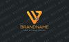 W Triangle Node Logo Template Big Screenshot