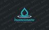 Water Drop Impact Logo Template Big Screenshot