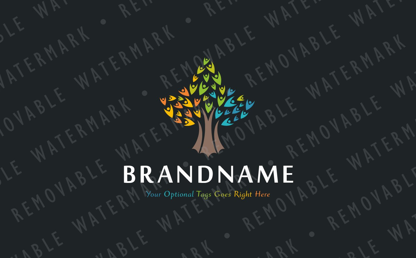 tree of souls logo template 68468