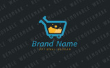 Shopping Lab Logo Template