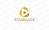 Autumn Leaves Media Logo Template Big Screenshot