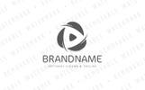 Autumn Leaves Media Logo Template
