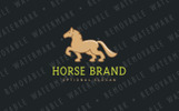 Spirited Stallion Logo Template