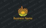 Apple Sunrise Logo Template